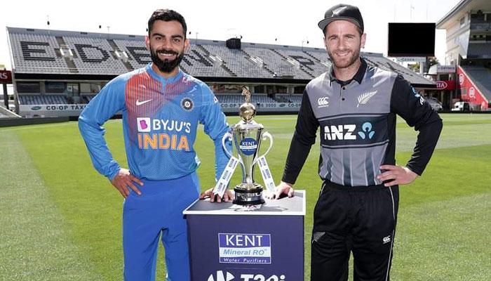 নিউজিল্যান্ড-ভারত পাঁচ ম্যাচের টি২০ লড়াই