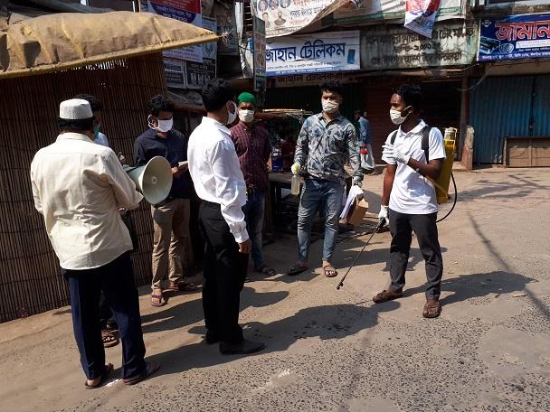 কক্সবাজারের ঈদগাঁওতে প্রবাসীকে জরিমানা : দুইটি বাড়ি কোয়ারেন্টাইন ঘোষণা