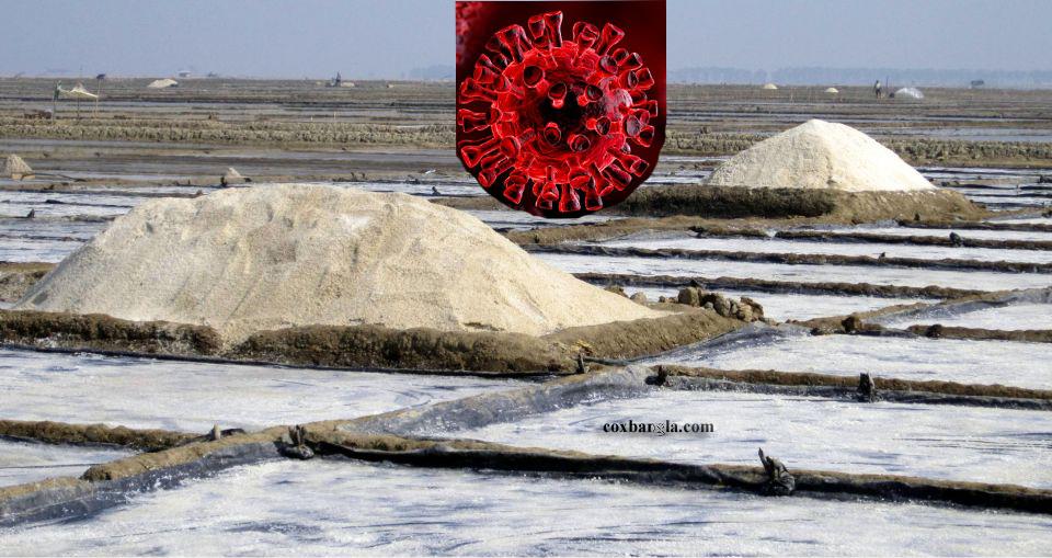 করোনায় লবণের রেকর্ড দরপতন : চরম সংকটে কক্সবাজারের হাজার হাজার কৃষক