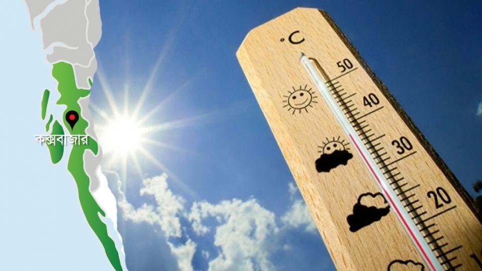করোনার সাথে প্রচন্ড গরমে ধুকছে কক্সবাজারবাসী : তাপমাত্রা উঠল ৩৫ ডিগ্রী সেলসিয়াসে