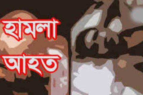 পেকুয়ায় হামলায় ব্যবসায়ী আহত