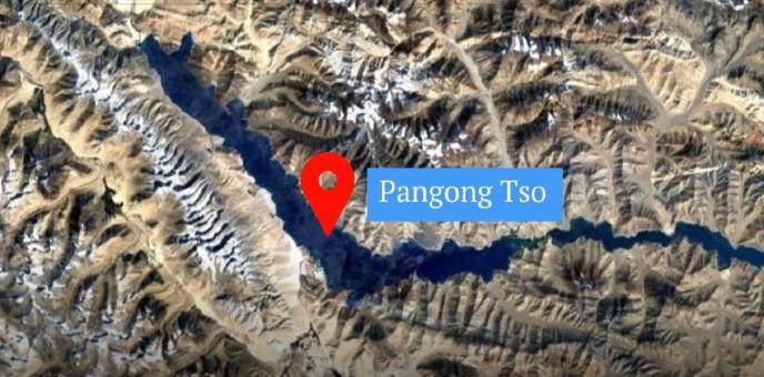 প্যানগং লেকে শক্তিবৃদ্ধি করছে চীন ?