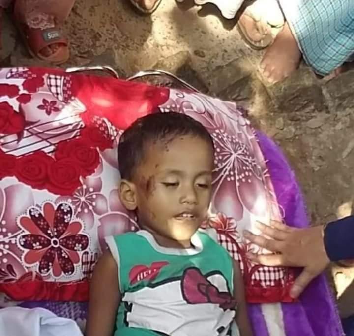 মহেশখালীর মাতারবাড়ীতে টমটম গাড়ির চাপায় শিশুর মৃত্যু