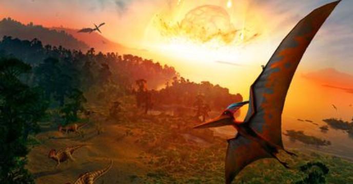 ৬৬ মিলিয়ন বছর আগে গ্রহাণুর ধাক্কায় পৃথিবীর বিশালাকার ডাইনোসর মুছে গিয়েছিল