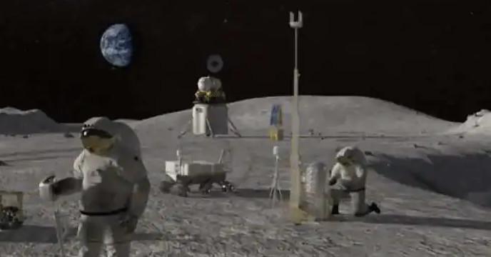 চাঁদে খনিজ সন্ধানে মহাকাশ গবেষণা সংস্থা NASA
