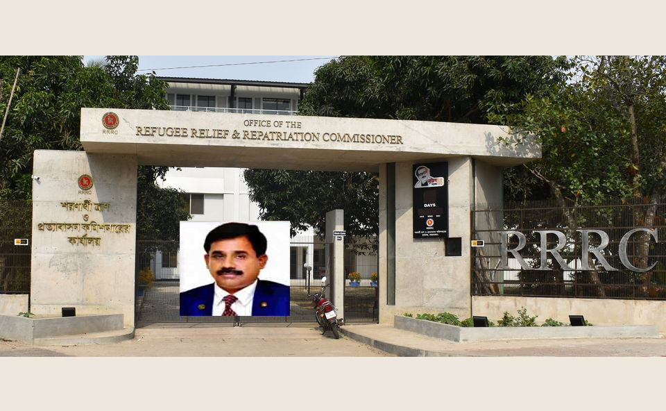 কক্সবাজারস্থ শরণার্থী ত্রাণ ও প্রত্যাবাসন কমিশনারকে বদলি : নতুন RRRC শাহ রিজওয়ান হায়াত