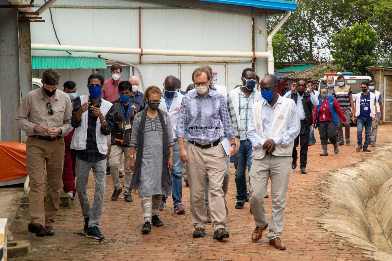 কক্সবাজারের শরনার্থী শিবির পরিদর্শনে আন্তর্জাতিক সম্প্রদায়ের প্রতিনিধিরা : বাংলাদেশ ও রোহিঙ্গাদের প্রতি সমর্থন পুনর্ব্যক্ত