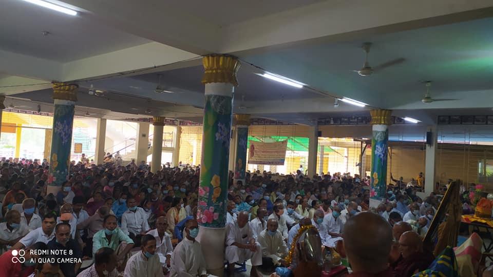 রামু কেন্দ্রীয় সীমা মহাবিহারে 'কঠিন চীবর দান' উৎসব সম্পন্ন
