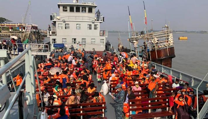 কক্সবাজার থেকে দ্বিতীয় ধাপে রোহিঙ্গাদের ভাসানচরে স্থানান্তর চলতি সপ্তাহেই