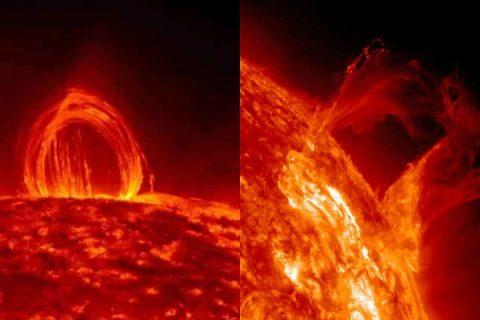 সূর্যের বিরাট পরিবর্তনের ভিডিও শেয়ার করল NASA