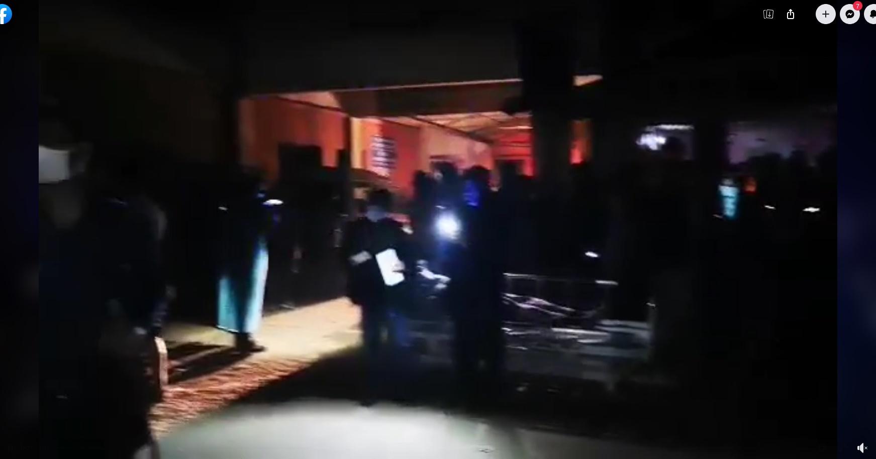 কক্সবাজার সদর হাসপাতালে আগুন : ৩৫ মিনিটে নিয়ন্ত্রণ
