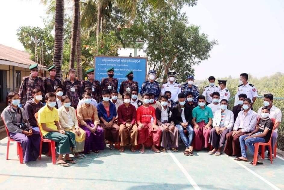বিজিবি ও বিজিপি পতাকা বৈঠক : ২৪ বাংলাদেশী নাগরিক মিয়ানমার সরকার