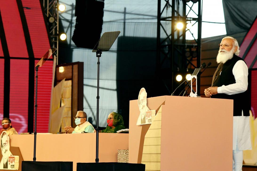 বাংলাদেশের স্বাধীনতা সমর্থন করায় গ্রেপ্তার হয়েছিলাম, কারাগারেও গিয়েছিলাম : প্রধানমন্ত্রী মোদি (ভিডিও সহ)