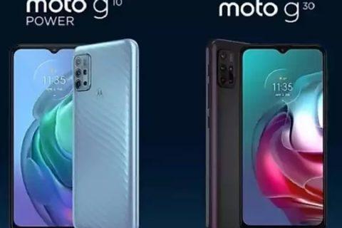 অপেক্ষার অবসান ঘটিয়ে লঞ্চ হল Moto G30 এবং Moto G10 Power