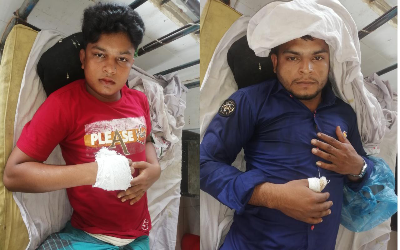 পেকুয়ায় মাদক ব্যবসায়ীর হামলায় চাচা-ভাতিজা আহত