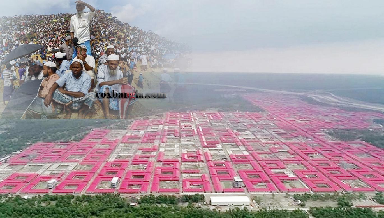 কক্সবাজারের শরনার্থী শিবির থেকে ৮২ হাজার রোহিঙ্গাকে বর্ষা মৌসুমের পর ভাসানচরে স্থানান্তর