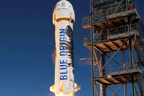 মহাকাশ যাত্রায় যাচ্ছেন জেফ বেজোসের 'Blue Origin'
