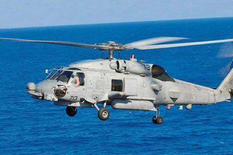 ভারতীয় নৌসেনার হাতে এল দু'টি অত্যাধুনিক মার্কিন helicopter