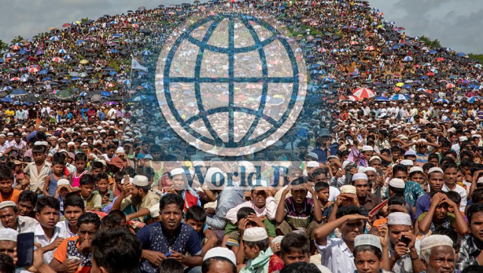 রোহিঙ্গাদের নিয়ে বিশ্বব্যাংকের প্রস্তাবকে সরকারের না : খুশী কক্সবাজারের মানুষ
